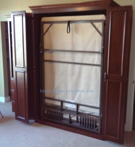 11-2016-cherry-bed-with-one-bookcase-doors-open