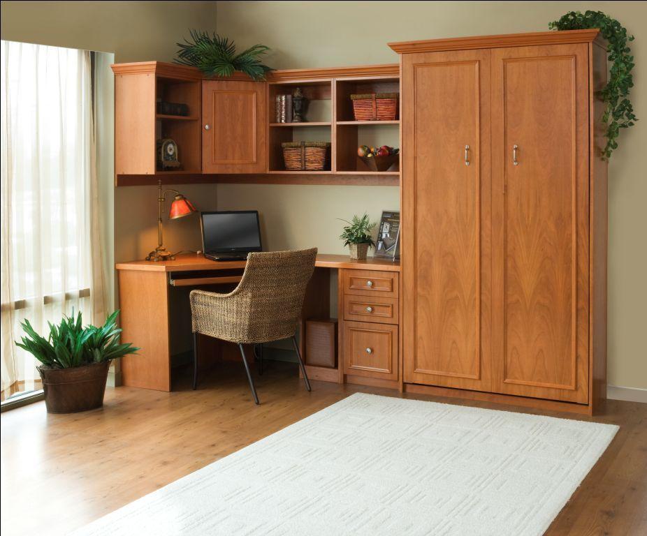 Murphy bed home office space kentucky murphy beds - Pinterest murphy bed ...
