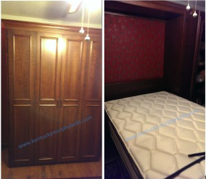 Murphy bed, Wall Bed New Cabinet Door Style