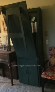 murphy cabinet desk unit