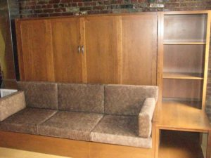 Murphy couch bed, queen size