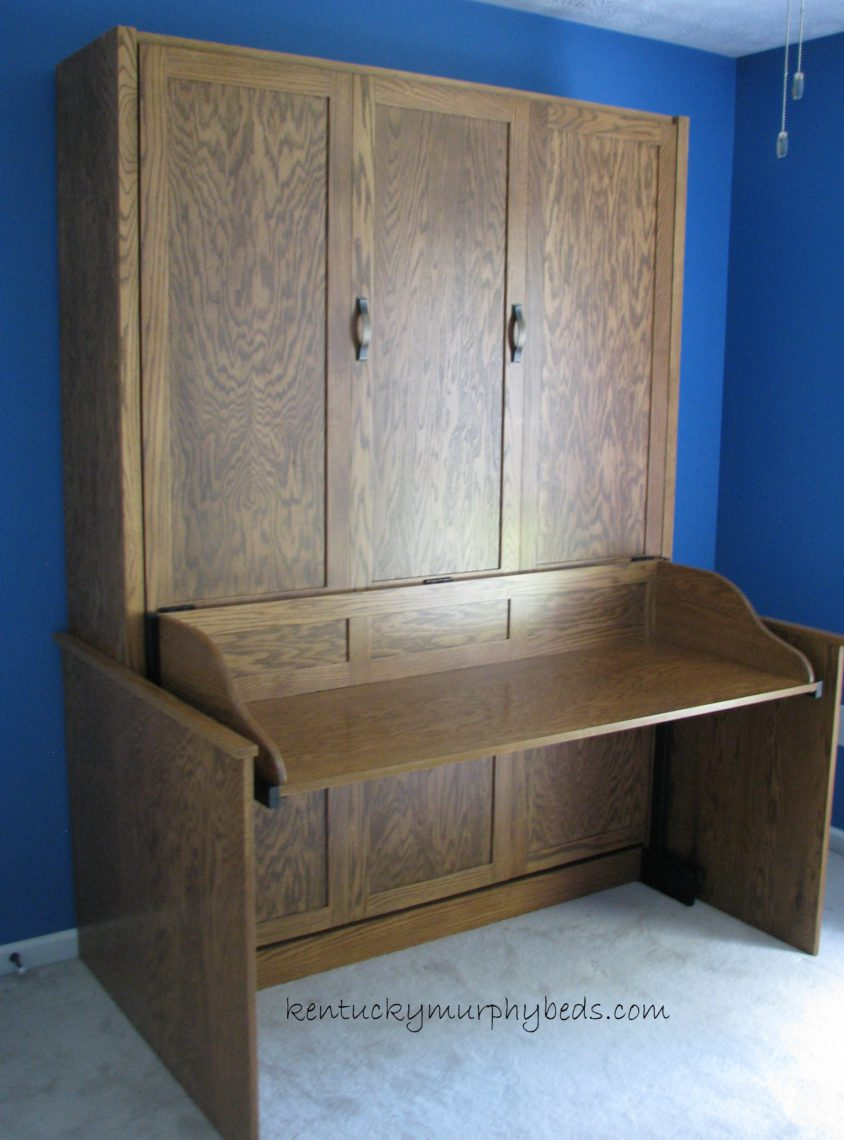 Desk Murphy Bed – All In One!