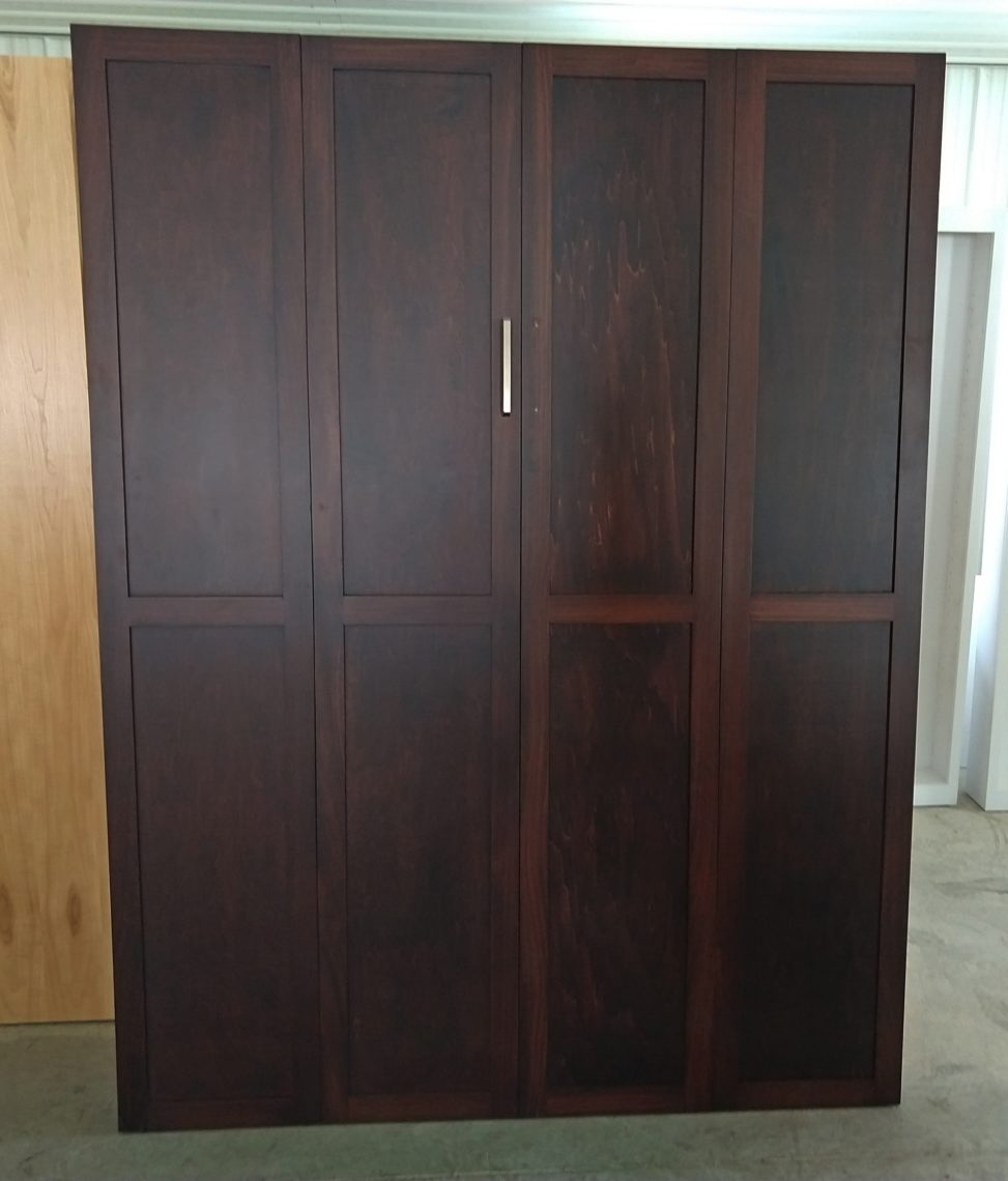 maple panel bed, ky murphy beds, spring special 2019