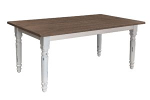 Farmhouse Plank Top Table, Amish made, various wood and finishes