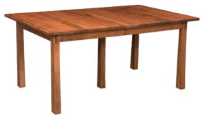 Superior Mission table, Amish made, various wood and finishes