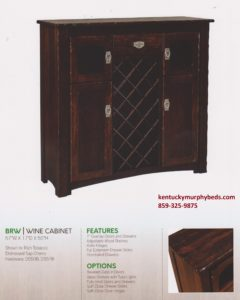 brunswick wine cabinet, Amish made, custom design