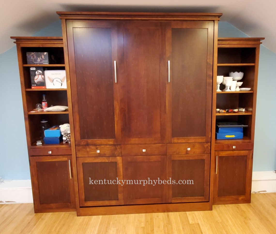 full size panel Murphy bed; construction challenge
